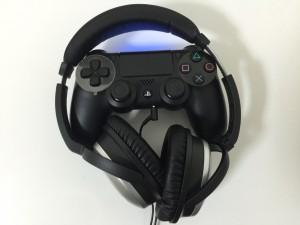 PS4 コントローラ ヘッドホン
