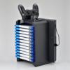【新製品】PS4本体とゲームソフトが収納できるコントローラ充電機能付きスタンド
